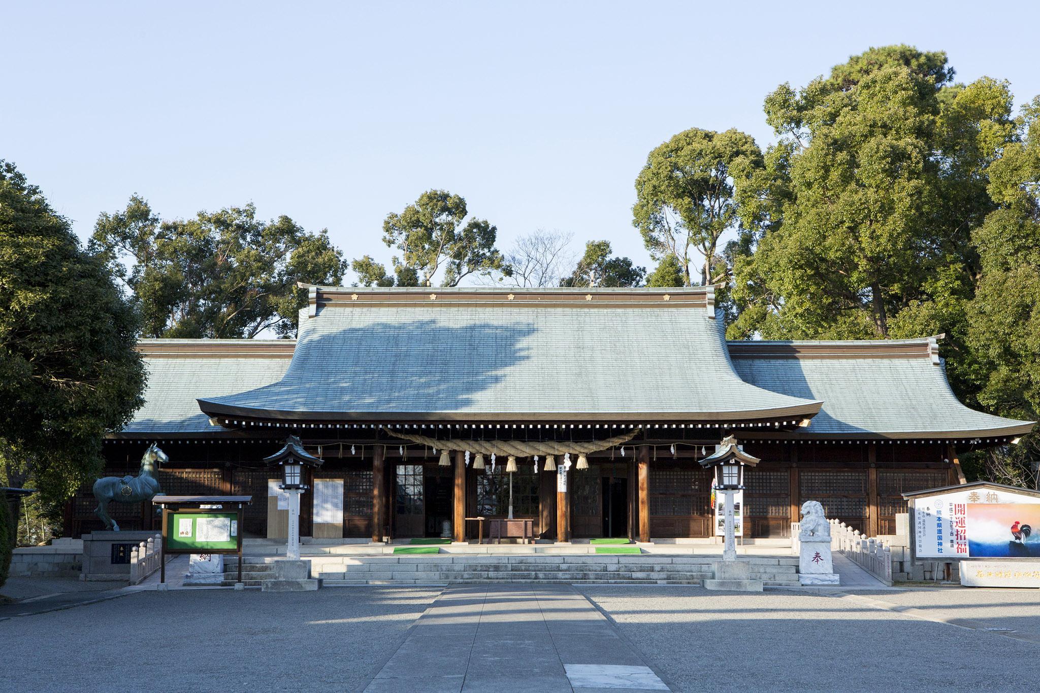 熊本県護国神社 | 観光地 | 熊本市観光ガイド